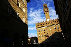 Palazzo Vecchio Stock Foto