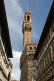 Palazzo Vecchio. Old city hall in florence Royalty Free Stock Photography