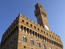 Palazzo Vecchio. In the city of Firenze Royalty Free Stock Image