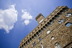 Palazzo vecchio Royalty Free Stock Photography