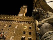Palazzo Vecchio Foto de Stock Royalty Free