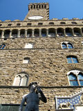 Palazzo Vecchio. Old palace in Signoria's square, historic centre of Florence, Italy Royalty Free Stock Image