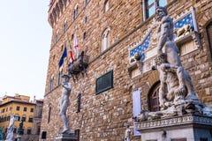 Palazzo Vecchio 库存照片