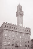 Palazzo Vecchio Art Museum in Florence; Italy Stock Photography