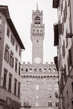 Palazzo Vecchio Art Museum in Florence; Italy Stock Images