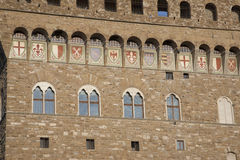 Palazzo Vecchio Building, Florence. Italy Royalty Free Stock Photography