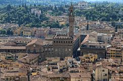 Palazzo Vecchio city hall of Florence, Italy Royalty Free Stock Photography