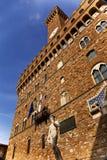 Palazzo Vecchio David Statue Florence Stock Photo