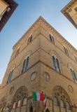 Palazzo Vecchio in della Signoria della piazza a Firenze Immagine Stock Libera da Diritti
