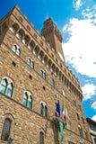 Palazzo Vecchio em Florença Fotos de Stock Royalty Free