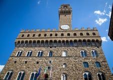 Palazzo Vecchio em Florença, Italy fotografia de stock royalty free