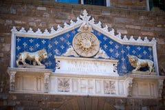 Palazzo Vecchio em Florença, Italy foto de stock royalty free