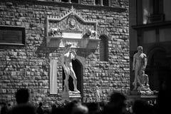 Palazzo Vecchio em Florença, Italy fotografia de stock