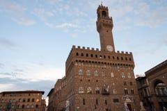 Palazzo Vecchio en el della Signoria de la plaza en Florencia Imagen de archivo libre de regalías