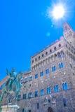 Palazzo Vecchio en Florencia, Italia Imagen de archivo