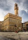 Palazzo Vecchio a Firenze Fotografia Stock Libera da Diritti