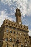 Palazzo Vecchio Firenze Fotografie Stock Libere da Diritti