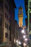 Palazzo Vecchio, Firenze immagine stock