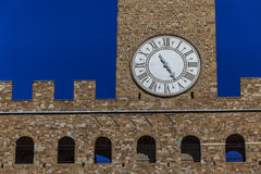 Palazzo Vecchio. Firenze, Italia Fotografia Stock Libera da Diritti