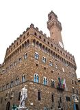 The Palazzo Vecchio in Firenze, Italy Royalty Free Stock Images