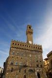 Palazzo Vecchio Firenze Italy - XIII century Stock Photo