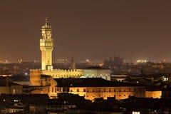 Palazzo Vecchio in Florence royalty-vrije stock foto
