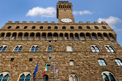 The Palazzo Vecchio, Florence Stock Images