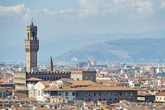 Palazzo Vecchio Florence royalty-vrije stock afbeelding