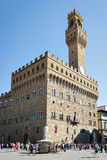 Palazzo Vecchio Florence royalty-vrije stock afbeeldingen
