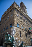 Palazzo Vecchio in Florence, Italië Stock Afbeelding