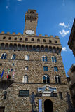 Palazzo Vecchio in Florence, Italië Royalty-vrije Stock Afbeelding