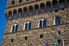 Palazzo Vecchio in Florence, Italië Stock Foto