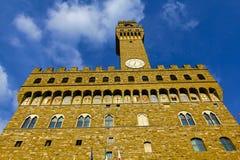 Palazzo Vecchio, Florence, Italien royaltyfri bild