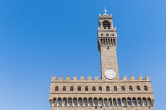 The Palazzo Vecchio, in Florence, Italy. Stock Photos