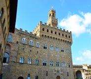 Palazzo vecchio in Florence - Italy Stock Photos