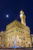 Palazzo Vecchio in Florence in Italy Stock Photos