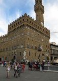 Palazzo Vecchio in Florence Stock Photography