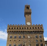 Palazzo Vecchio in Florence, Italy Stock Images