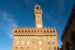 Palazzo Vecchio in Florence, Italy. Stock Photography