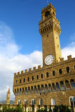 Palazzo Vecchio in Florence, Italy Royalty Free Stock Photos