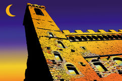Palazzo Vecchio in Florence - Italy Stock Images