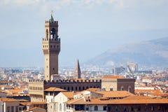 Palazzo Vecchio Florence Italy Stock Photo