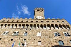 The Palazzo Vecchio stock image