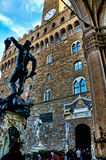 The Palazzo Vecchio Florence Stock Photography