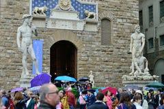 Palazzo Vecchio in Florence Stock Photo