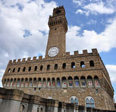 Palazzo Vecchio in Florence Stock Photos