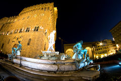 Palazzo Vecchio in Florence in Tuscany, Italy Stock Photo
