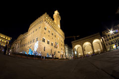 Palazzo Vecchio in Florence in Tuscany, Italy Stock Images
