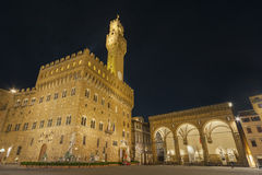 Palazzo Vecchio in Florence, Tuscany, Italy Stock Image