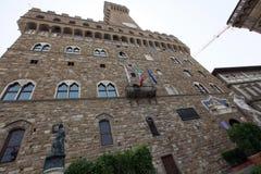 Palazzo Vecchio in Florence, Tuscany, Italy. Stock Photos